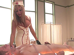 Kinky Shemale Nurse Fucks One Of Her Sexy Patients