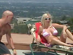 Rough Sex For A Smoking Hot Blonde