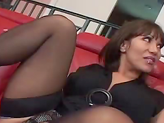 Gagging Fun For A Kinky Milf From A Big Fat Cock