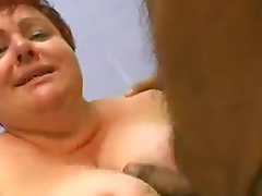 Rough Sex On The Couch With An Amateur Mature BBW
