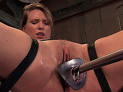Tied Up MILF Gets the Iron Dick