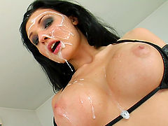 Amazing Gangbang Scene With The Busty Pornstar Aletta Ocean