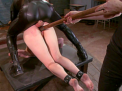 Horny Babe's Pleased And Pleases Her Masters