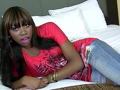 Rough Sex With The Ebony Teen Mona Bella