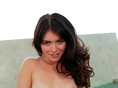 Ravishing Brunette Fingers Her Pussy Just For You