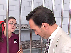 Teen Babe Hires A Lawyer To Release Her Pussy From Jail