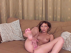 Kinky Teen Shows You Her Tight Pink Pussy