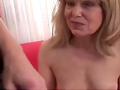Mature Blonde's Fucked Nonstop Until Getting A Creampie