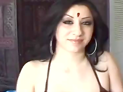 Indian Hottie Sucks And Fucks A Big Cock In A POV