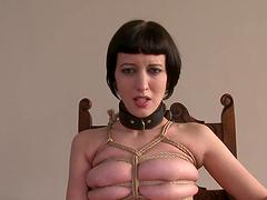 Sex Slave Chick & Her Dominatrix