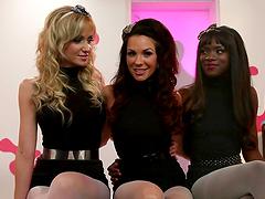 Foot Fetish Fun With Kinky Lesbian Gals