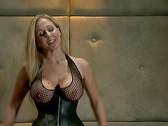 Big titty slut gets her tight asshole stuffed