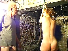 Hot Mature Sucks A Big Cock After Being Spanked