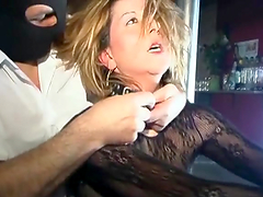 A Fimr Spanking For A Sexy And Mature Blonde