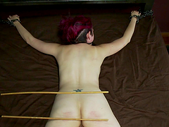 Goth Chick Enjoys Getting Drilled In Bondage Session