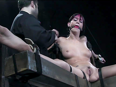 Hot Bondage Clip With A Kinky Emo Hottie