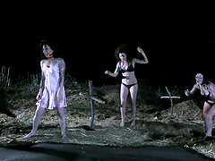 Evil Dead Sex Parody with Undead Cock Sucking Whores