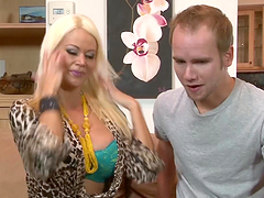 Hot Blonde Milf Fucks Her Lucky Son-In-Law