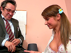 Horny Teen Is Fucked By Her Teacher In A Solo Clip