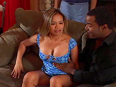 Dude has a black guy fuck his hot wife