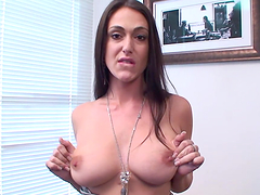 A Heart Stopping Solo Clip With The Horny Victoria Love