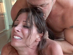 Rough sex with the smoking hot milf Angel Little