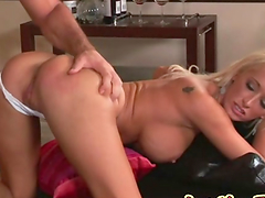 Lichelle Marie gets cumshot after being fucked by a big cock