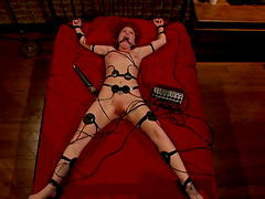 Electro Whores In Bondage Scene