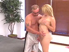 Sizzling hot Latina is fucked by a very lucky guy