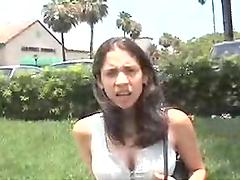 Tight bitch gets fucking fucked hard
