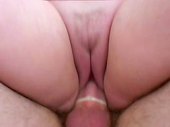 Fat bitch with big tits gets fucked