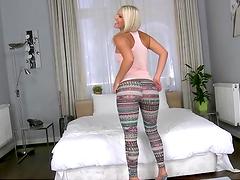 Amazing anal sex wi ththe beautiful blonde Blanche Bradburry