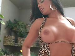 A pleasureing fuck with Brazilian hottie Fabiane Thompson