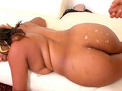 Rough sex with the thick ebony babe Dana Dior