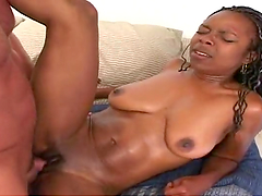 Rough sex with the busty ebony babe Candice