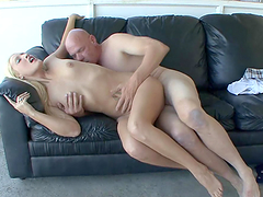 Sunny Day is fucked hard by a horny old man