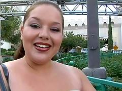 Rough sex with a horny BBW hottie