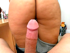 POV titjob and hardcore sex with busty amateur MILF