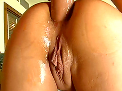 Dude nails two hot bitches in their holes