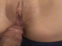 Horny brunette's fucked hard by thick cock in POV