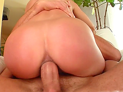 Bitch gets her tight ass fucked and left gaping!