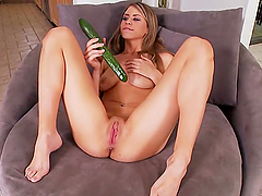 Amazing solo scene with the kinky babe Delilah Blue
