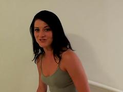 Nasty-ass whore riding hard cock