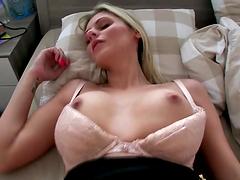 POV sex with the smoking hot blonde Katka