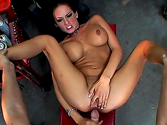 Rough POV sex with the busty brunette hottie Tory Lane