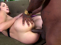Remy LaCroix is nailed by a monster black cock