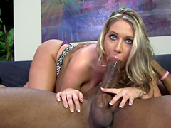 Amazing interracial sex with the busty blonde Alysha Rylee