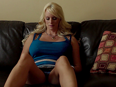 Rough nonstop sex with the gorgeous blonde Christie Stevens