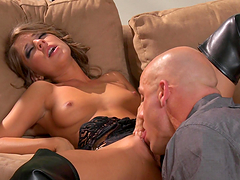 Presley Hart takes a pounding from a big hard cock