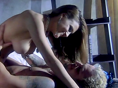 Rough sex with the gorgeous babe Andreza Valentino